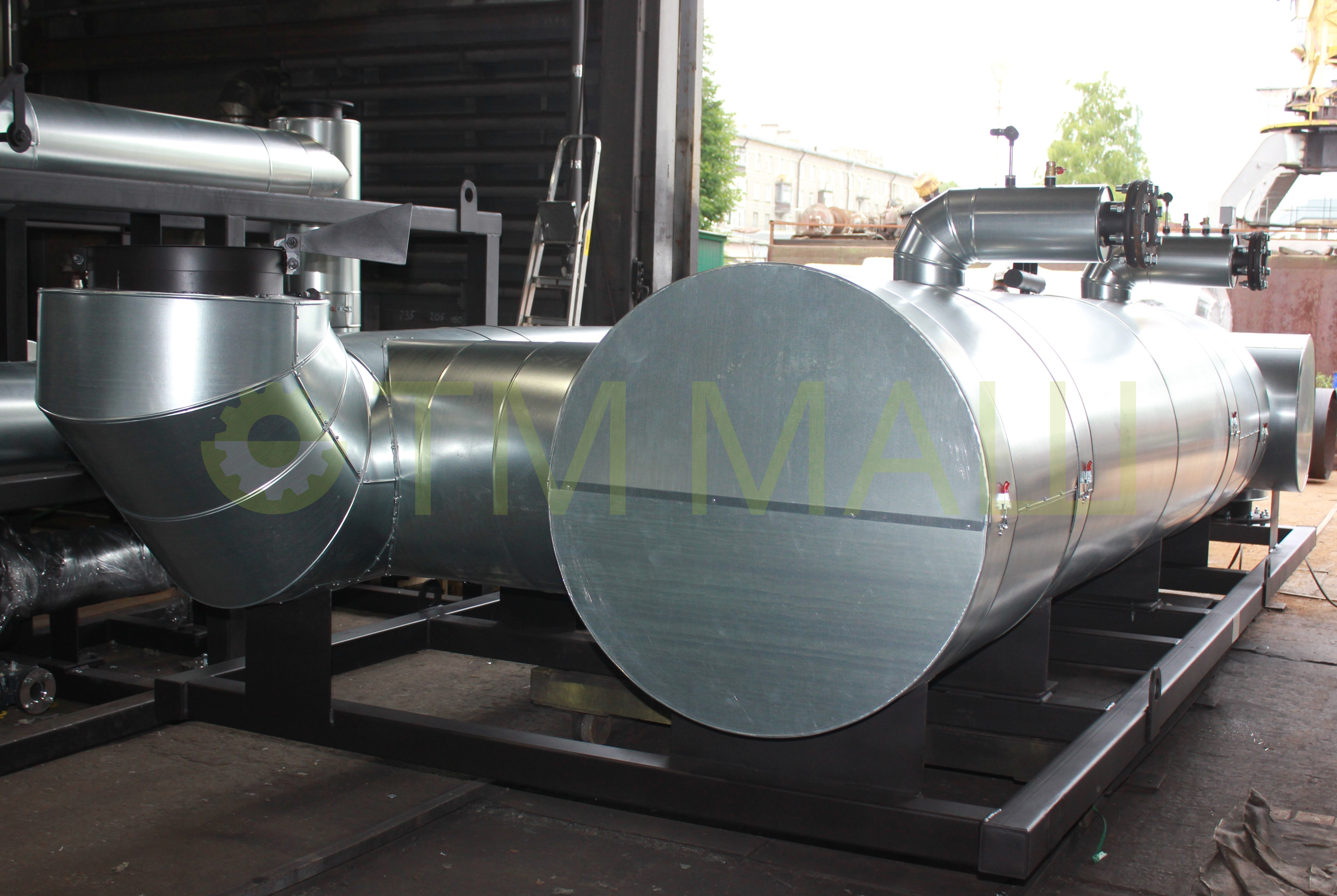 Модуль утилизации тепла выхлопных газов ТММ-ТМВГ.900