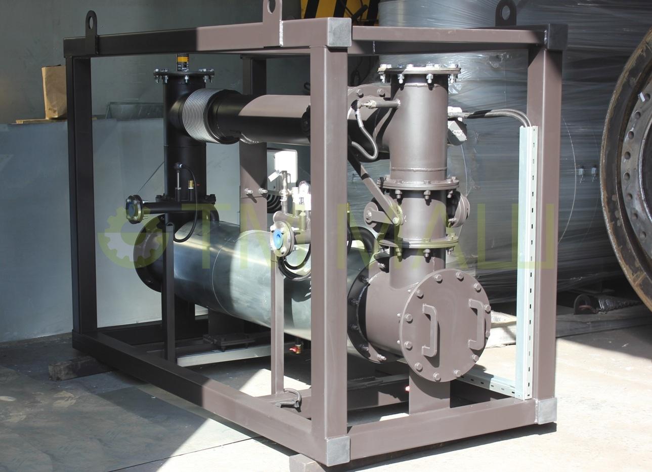 Модуль утилизации тепла выхлопных газов ТММ-ТМВГ.100