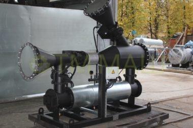 Тепловой модуль утилизации тепла дымовых газов ТММ-ТМВГ.150