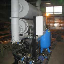 Компактная компоновка системы утилизации тепла для здания энергоцентра
