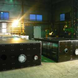 Система утилизации тепла для 2 ГПЭС контейнерного исполнения