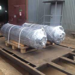 Низкошумные глушители ТММ-НГ.300 перед отгрузкой